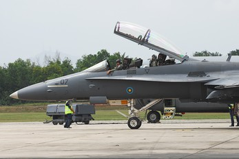 M45-07 - Malaysia - Air Force McDonnell Douglas F-18D Hornet