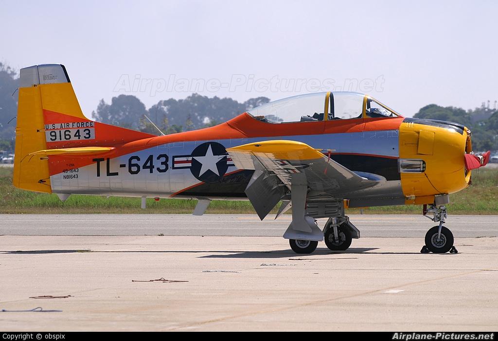 Private N81643 aircraft at Santa Barbara Municipal