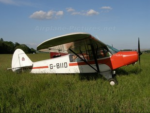 G-BIID - Private Piper PA-18 Super Cub