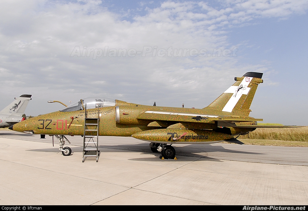 Italy - Air Force MM7147 aircraft at Pratica di Mare