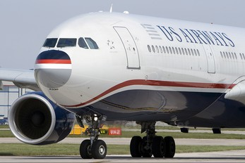 N275AY - US Airways Airbus A330-300