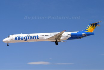 N866GA - Allegiant Air McDonnell Douglas MD-83