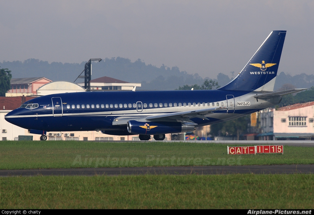 Weststar Aviation Services N413JG aircraft at Subang - Sultan Abdul Aziz Shah