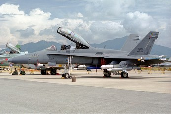 M45-06 - Malaysia - Air Force McDonnell Douglas F-18D Hornet
