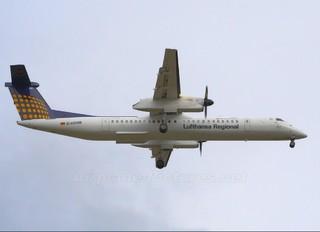 D-ADHB - Augsburg Airways - Lufthansa Regional de Havilland Canada DHC-8-400Q / Bombardier Q400