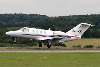 HB-VWF - Private Cessna 525 CitationJet