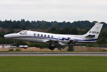G-SPUR - Private Cessna 550 Citation II
