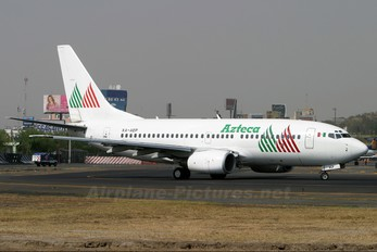 XA-AEP - Azteca Boeing 737-700