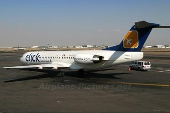 XA-TCG - clickMexicana Fokker 100
