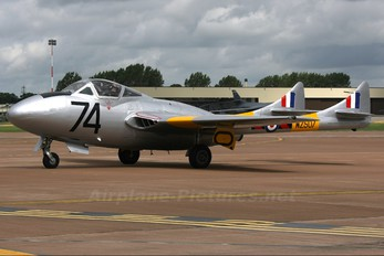 G-VTII - Vampire Preservation Group de Havilland DH.115 Vampire T.11