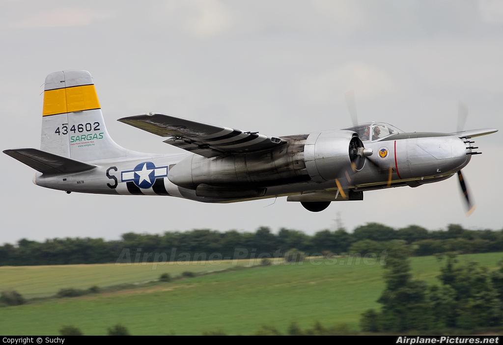 Scandinavian Historic Flight Douglas A-26 Invader
