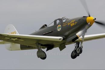 G-CEJU - Patina Bell P-39-Airacobra