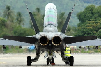 - - Malaysia - Air Force McDonnell Douglas F-18D Hornet