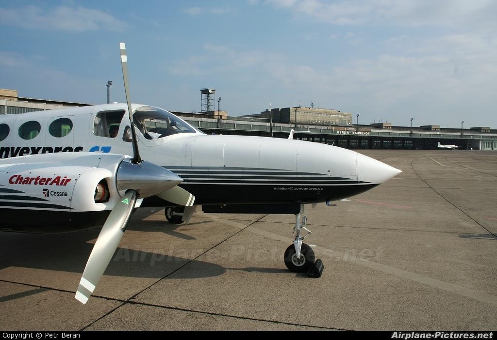 Ponyexpres OK-SUR aircraft at Berlin - Tempelhof
