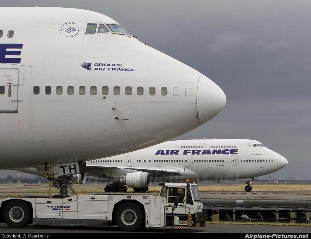 Air France F-GISC aircraft at Paris - Charles de Gaulle