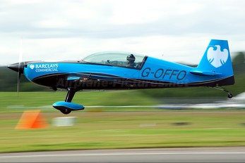 "G-OFFO - 2 Excel Aviation ""The Blades Aerobatic Team"" Extra 300L, LC, LP series"