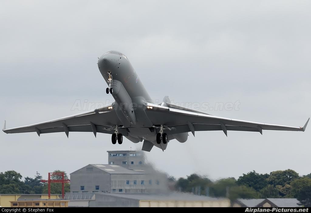 Royal Air Force ZJ692 aircraft at Farnborough