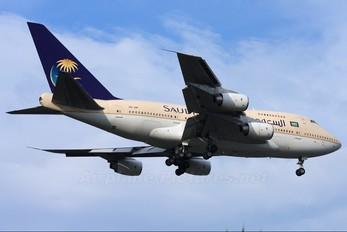 HZ-AIF - Saudi Arabia - Royal Flight Boeing 747SP