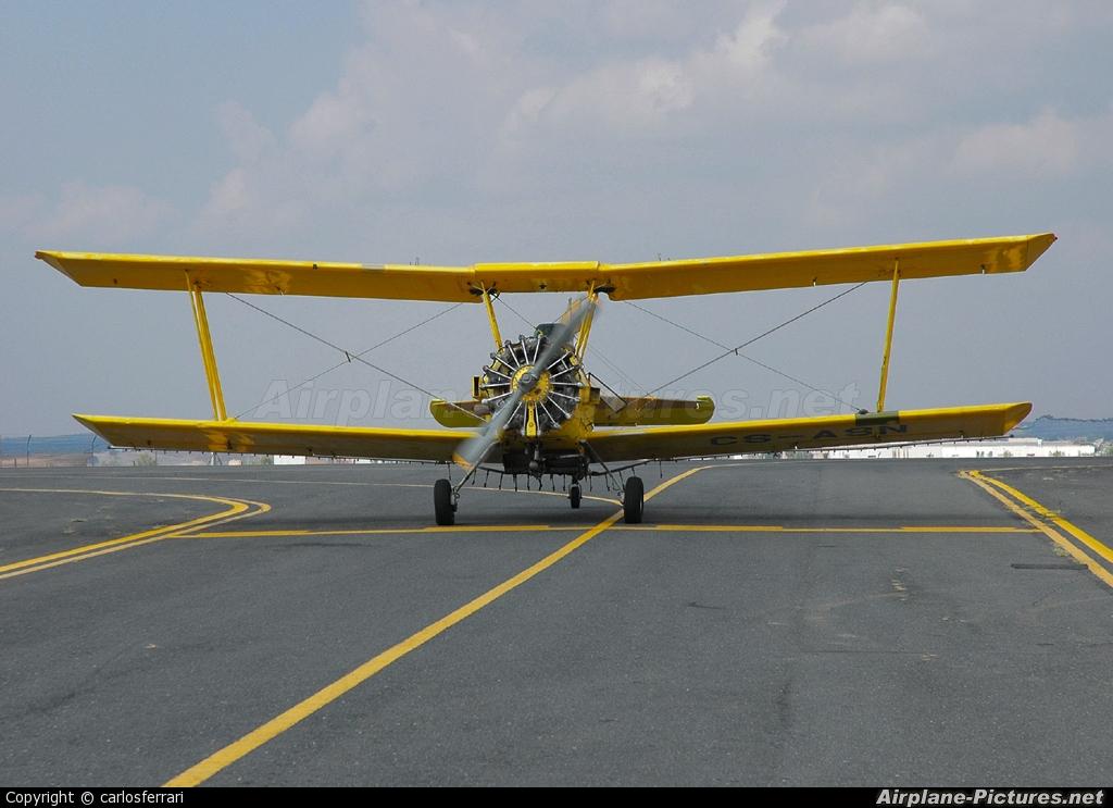 Agroar CS-ASN aircraft at Évora