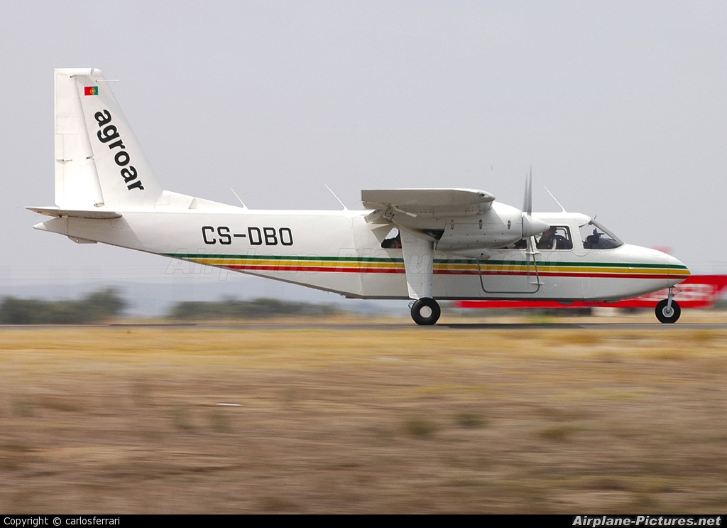 Agroar CS-DBO aircraft at Évora