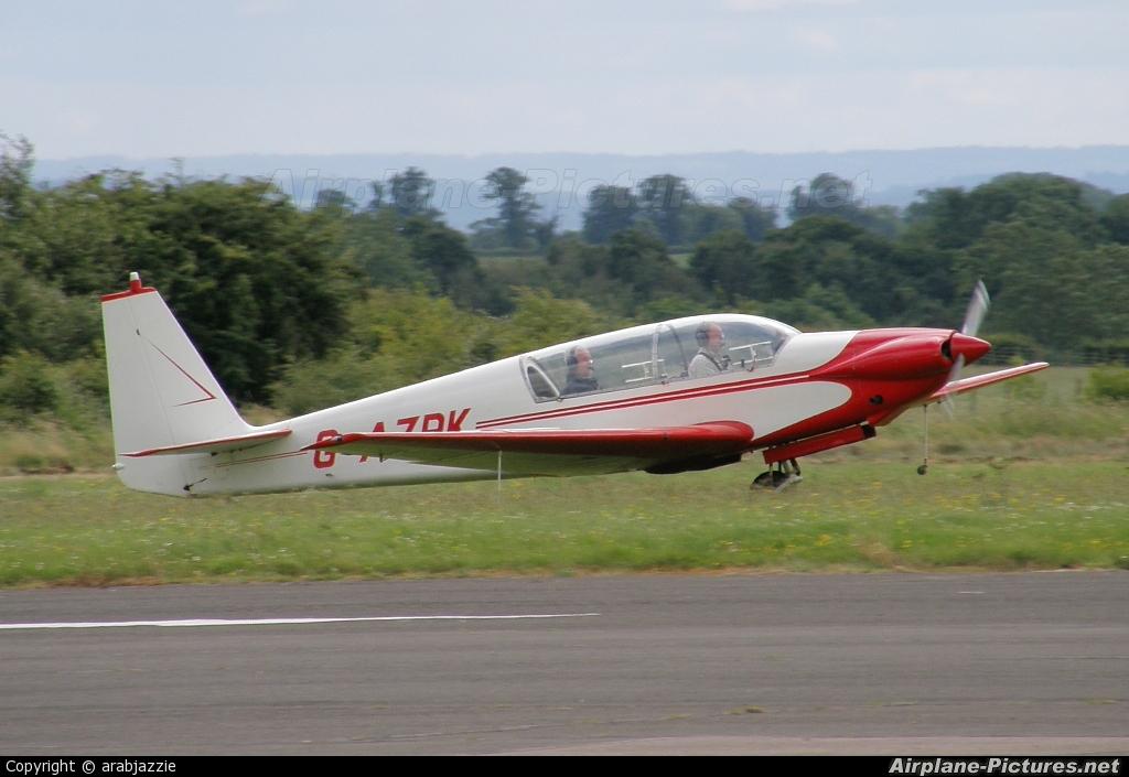 Private G-AZRK aircraft at Enstone