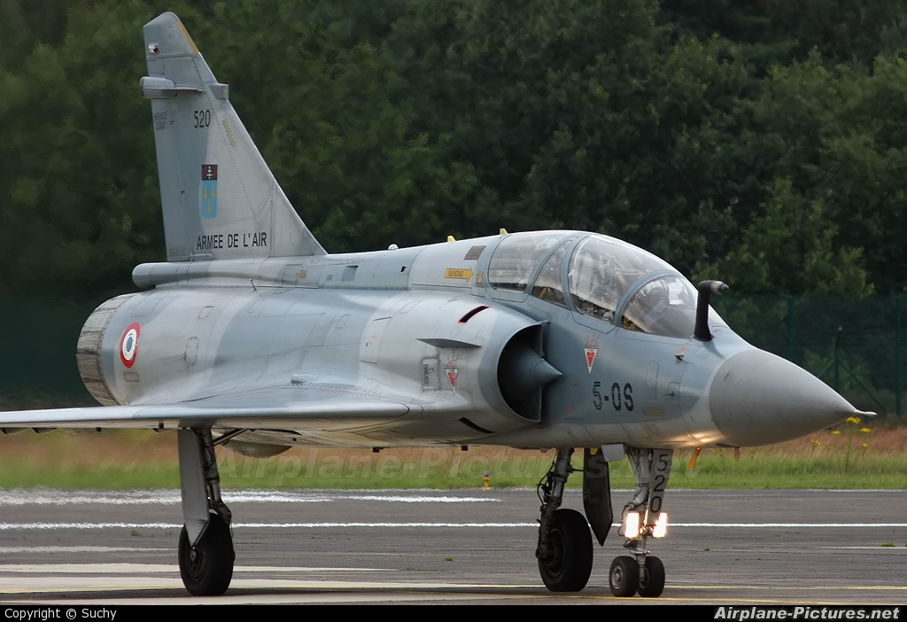France - Air Force 520 aircraft at Kleine Brogel