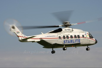 ZS-RSH - Starlite Aviation Sikorsky S-92