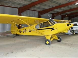 G-BPJG - Private Piper PA-18 Super Cub