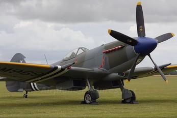 G-BRAF - Patina Supermarine Spitfire FR.XVIIIe