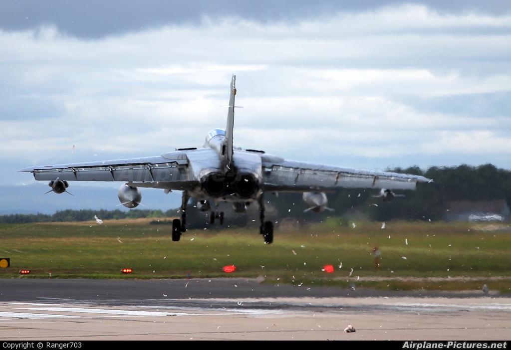 Royal Air Force ZG750 aircraft at Lossiemouth