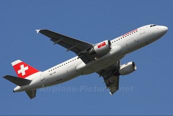 HB-IJB - Swiss Airbus A320