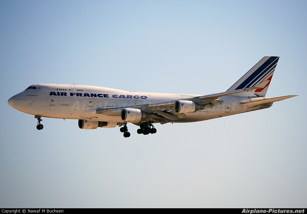 Air France Cargo F-GISB aircraft at Bahrain Intl
