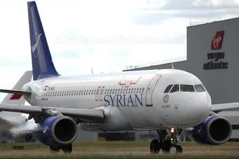 YK-AKA - Syrian Air Airbus A320