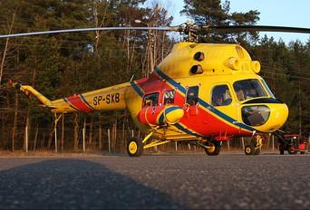 SP-SXB - Polish Medical Air Rescue - Lotnicze Pogotowie Ratunkowe Mil Mi-2