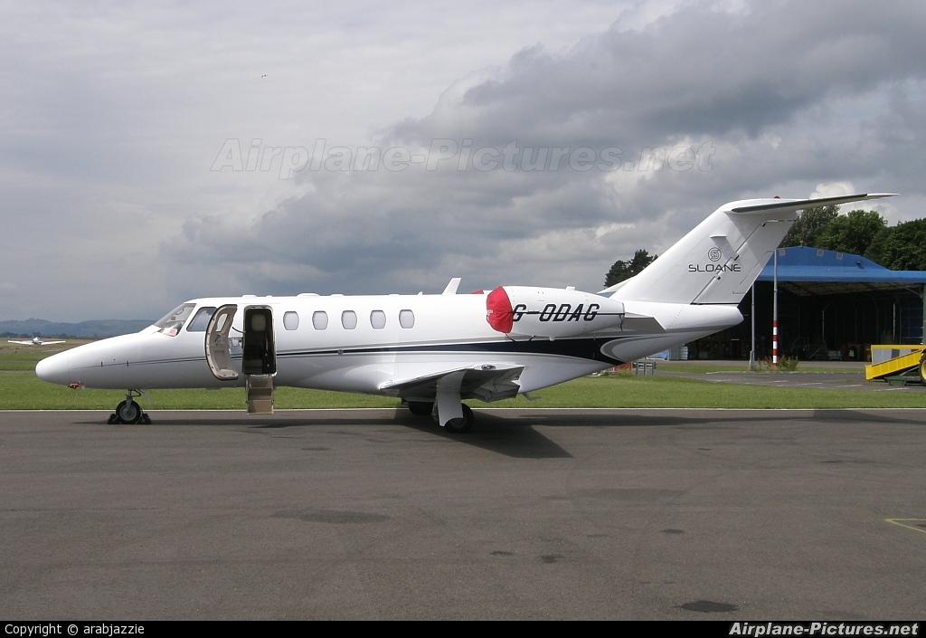 Air Charter Scotland G-ODAG aircraft at Dundee