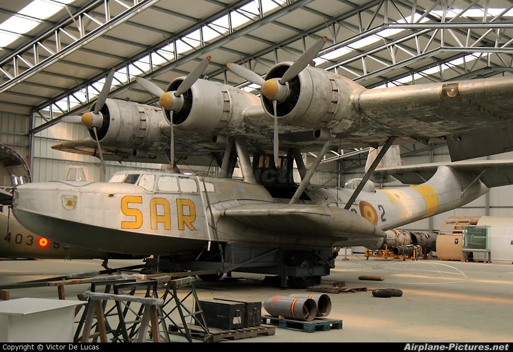 Spain - Air Force HD.5-2 aircraft at Madrid - Cuatro Vientos