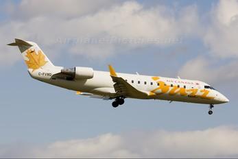 C-FVMD - Air Canada Jazz Canadair CL-600 CRJ-100