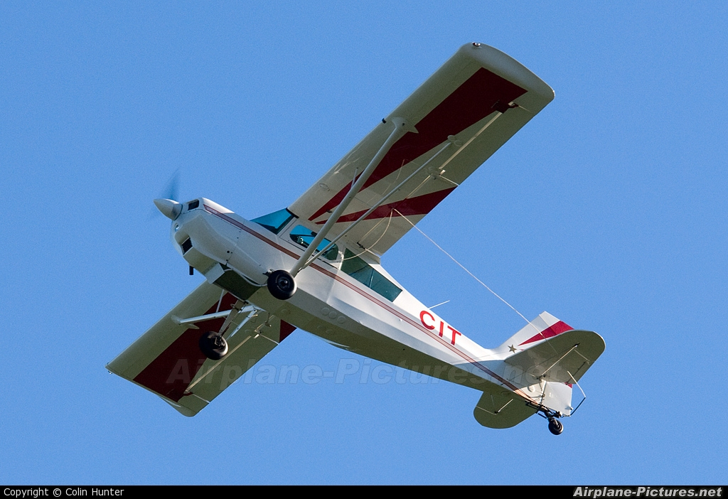 Private ZK-CIT aircraft at Ardmore