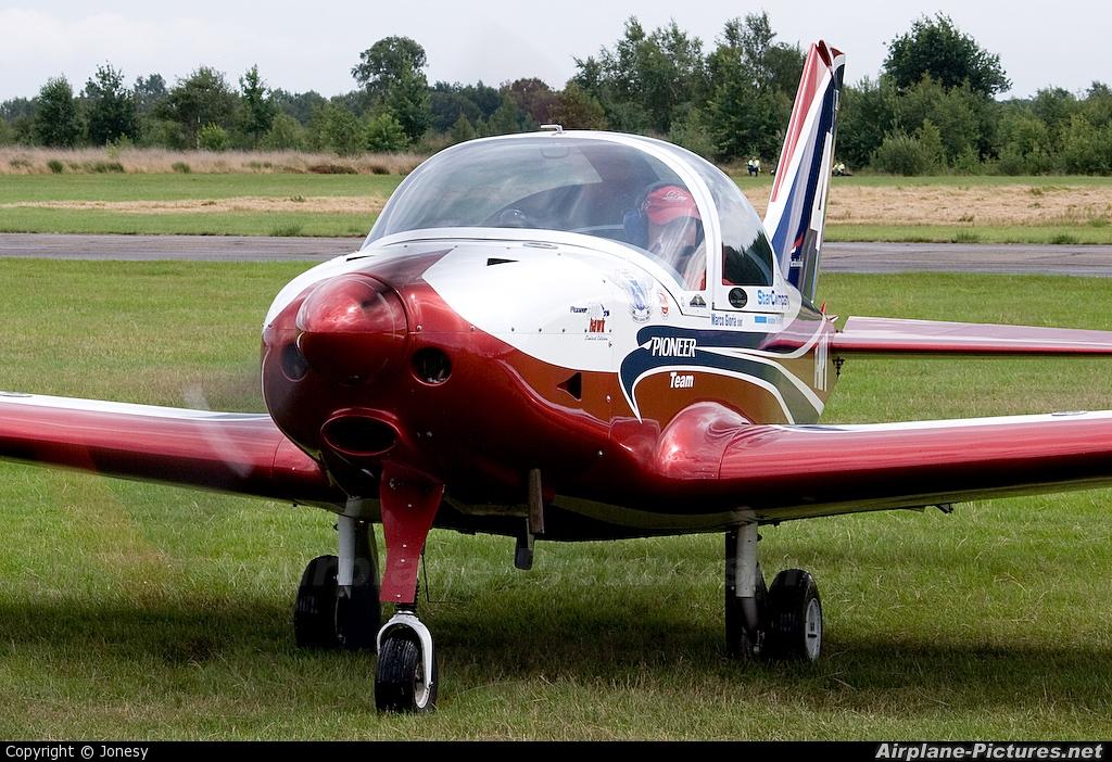 Pioneer Team I-8548 aircraft at Leopoldsburg - Beverlo