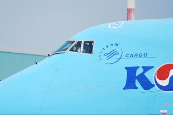 HL7603 - Korean Air Cargo Boeing 747-400F, ERF