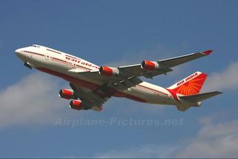 VT-ESP - Air India Boeing 747-400