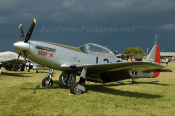 NL93TF - Private North American P-51D Mustang