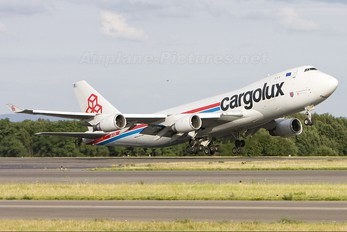 LX-LCV - Cargolux Boeing 747-400F, ERF