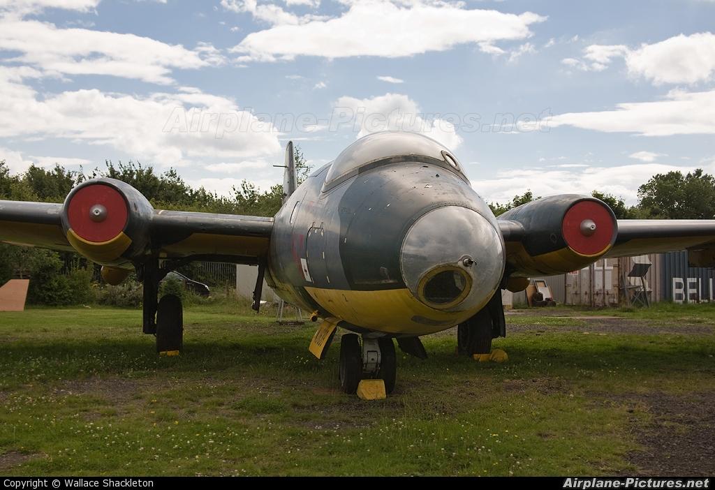 Royal Air Force WJ639 aircraft at Sunderland