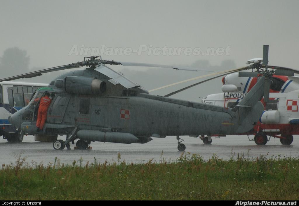 Poland - Navy 163544 aircraft at Mińsk Mazowiecki