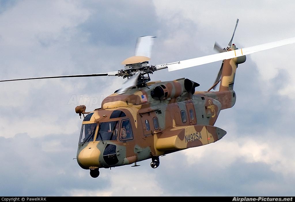Elicottero S 92 : N sa sikorsky s at mielec photo id