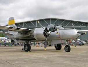 434602/N167B - Scandinavian Historic Flight Douglas A-26 Invader