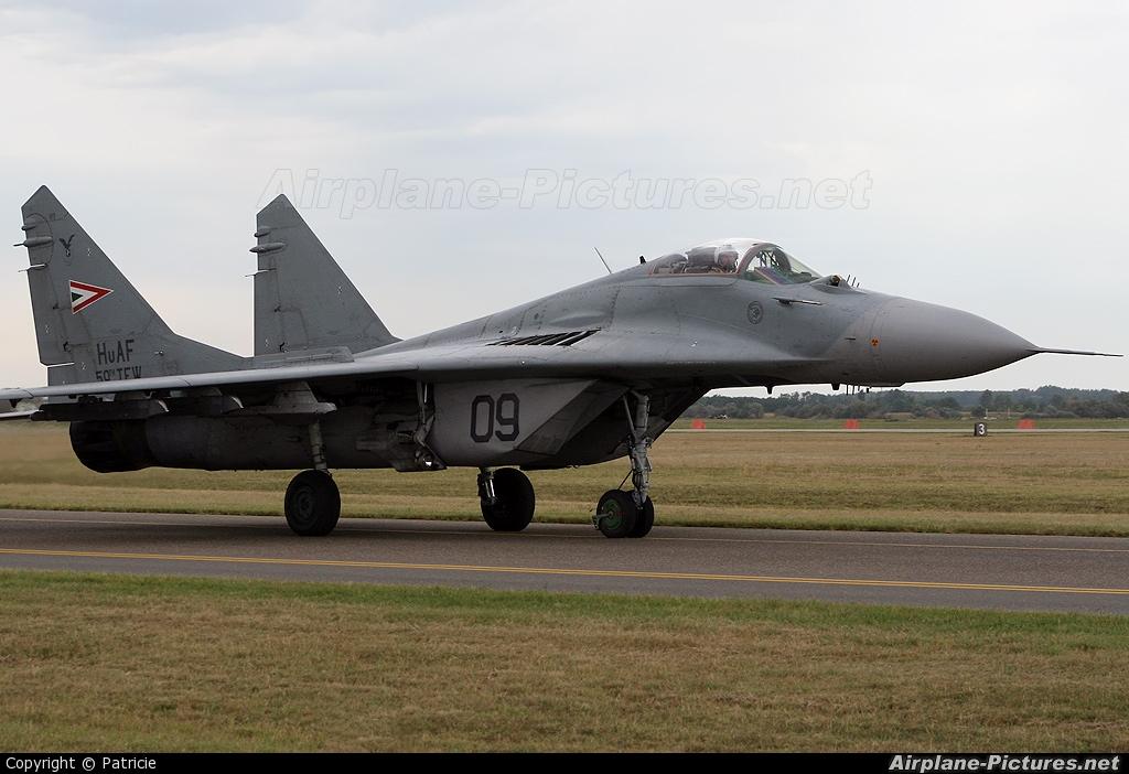 Hungary - Air Force 09 aircraft at Kecskemét