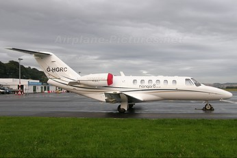 G-HGRC - Hangar 8 Cessna 525 CitationJet