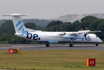 G-ECOV - Flybe de Havilland Canada DHC-8-400Q Dash 8